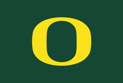 "the Oregon ""O"" logo"